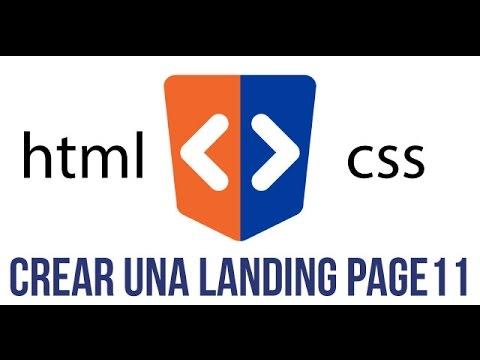 11 - Curso de HTML y CSS - Landing Page