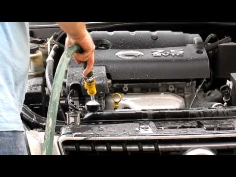 Coolant Flush 2006 Nissan Altima - How To - DIY