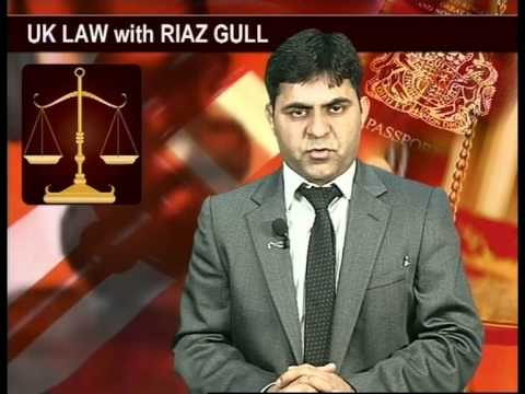 UK Law with Riaz Gull Work Permit Special 31 01 2013 Part 02