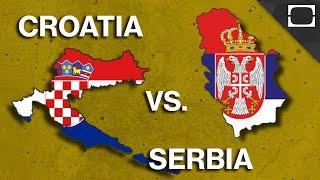 Why Do Croatia & Serbia Hate Each Other?