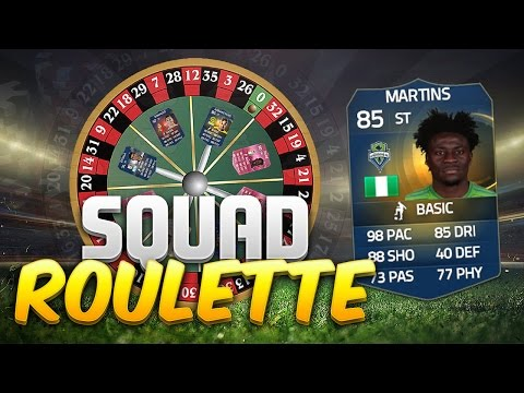 FIFA 15 SQUAD ROULETTE!!! CRAZY NEW SQUAD BUILDER SERIES WITH TOTS MARTINS!!!