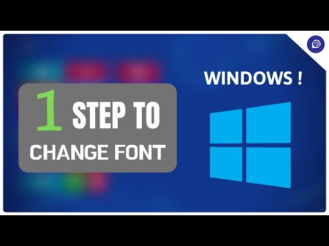 How to Change the Default Font in Windows [NO Extra Tool Needed]