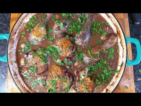 How To Make Coq Au Vin.French Chicken Recipe. #SRP.