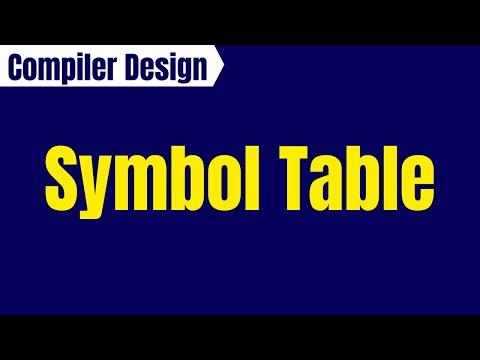 Symbol Table in Compiler Design (Hindi)