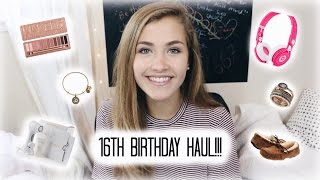 Download 16TH BIRTHDAY HAUL!!! Video