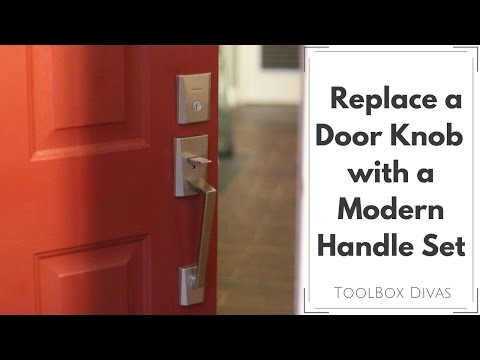 How To Replace a Door Knob for a Handle Set