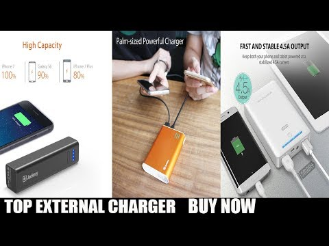 top 3  External Battery Charger Giant $12.99 /$27.99/$32.99