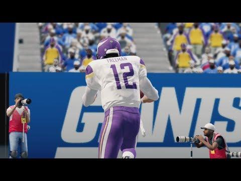 Vikings Quarterback Drama Takes Another Turn   NFL Week 7 Talk - Madden 25 Online Gameplay