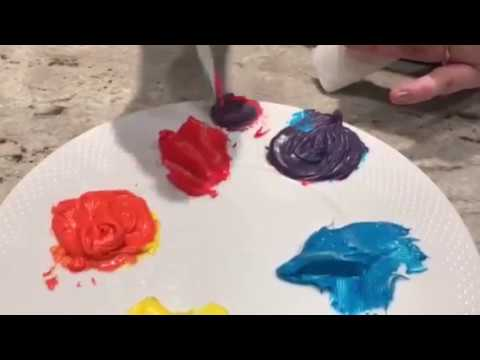 Color Wheel Frosting
