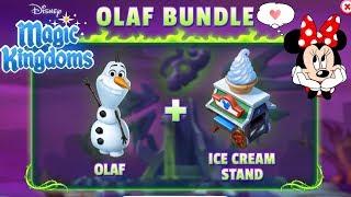 WELCOME OLAF! Tower Challenge in Disney Magic Kingdoms   Gameplay Walkthrough Ep.214