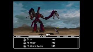 FF7 Ruby Weapon - Knights of the Round / Mime Strategy