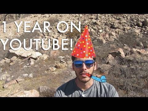 My One-Year YouTube Anniversary! (And a Big Announcement!)
