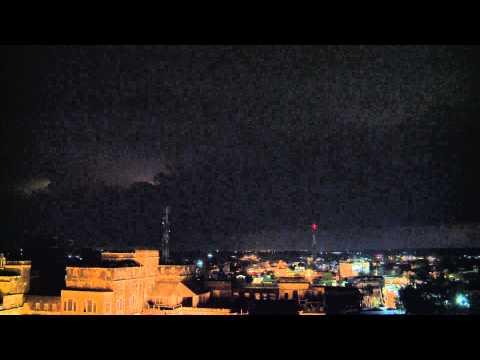 Lightning Timelapse in Rajasthan