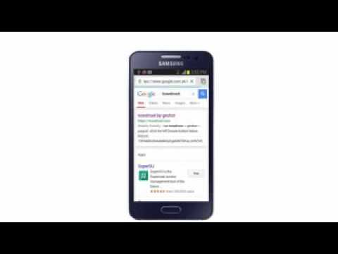 How to root Samsung A3 without pc
