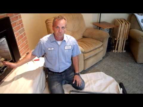 Robert Martin Gas Fireplace Cleaning  Step 3