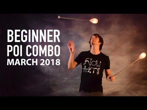 Poi Dance Choreography: Beginner Poi Combo March 2018
