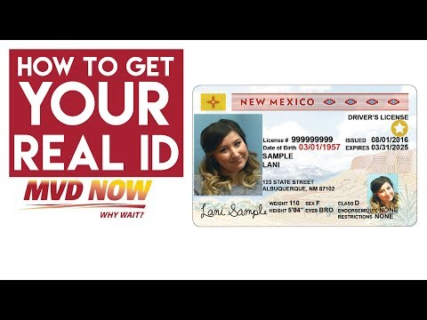 3 Easy Steps On How To Get Your New Mexico Real ID - MVD Now