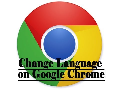 How to change default language on Google Chrome