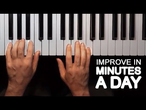 How to Improve Playing Piano With Both Hands in 10 Minutes a Day