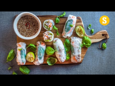 Fresh Vietnamese Spring Rolls Recipe
