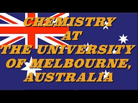 Study Chemistry in Australia!