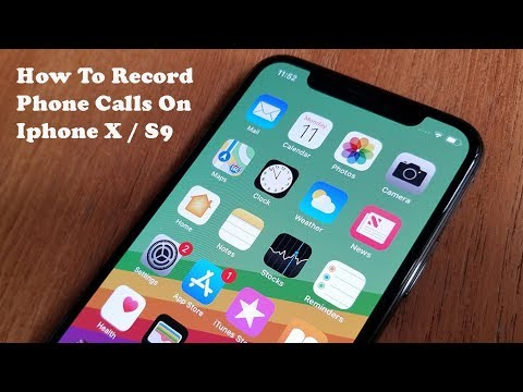 How To Record Phone Calls On Iphone X / Galaxy S9 - Fliptroniks.com