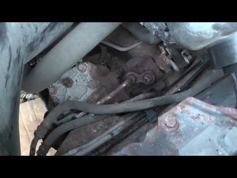 Ford power steering lines replacement