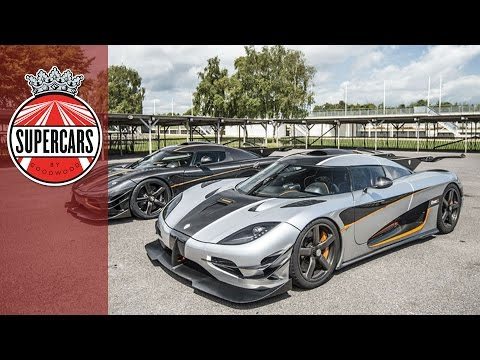 Koenigsegg Agera One:1 driven on track - World exclusive first drive at Goodwood!!!