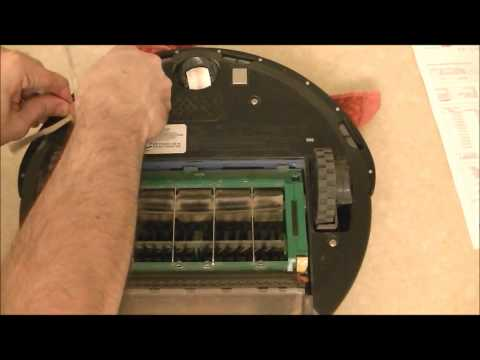 IRobot Roomba How To replace the Side Brush module