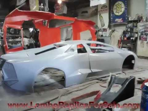 Lamborghini Reventon Replica Kit Car Project: Mold is Complete, First Body is Ready to Build!