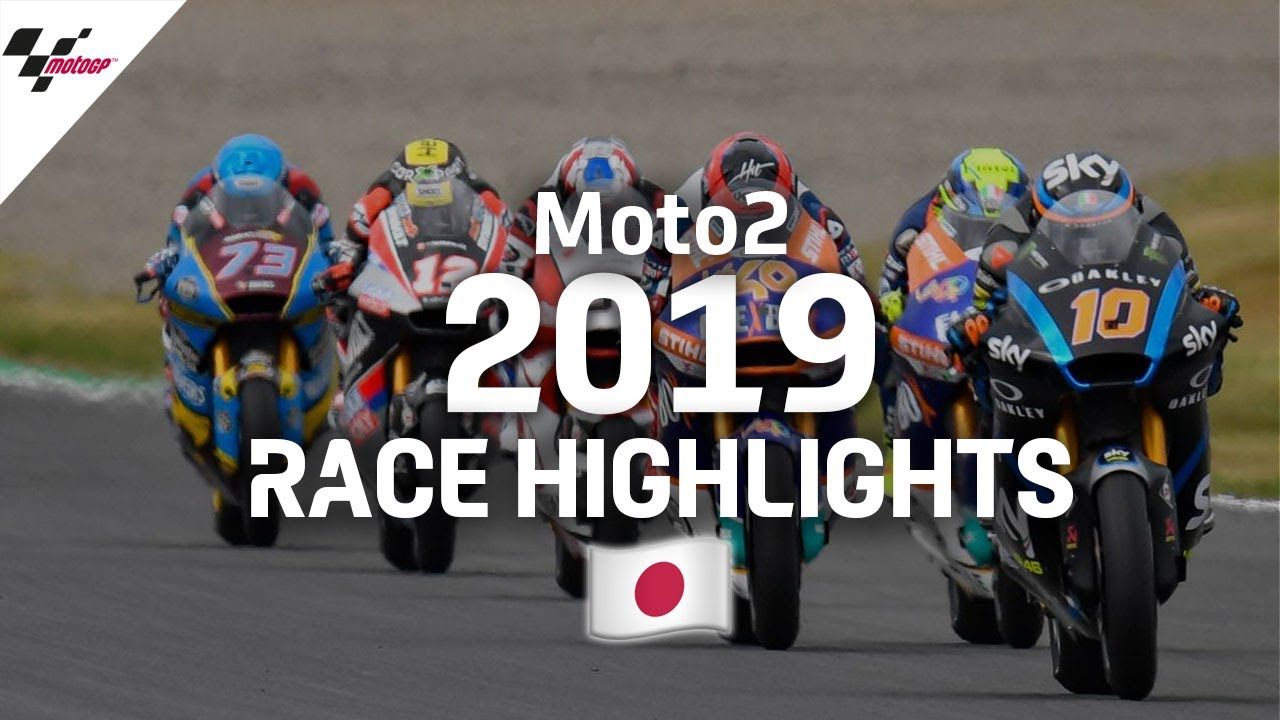 2019 #JapaneseGP | Moto2 Race Highlights