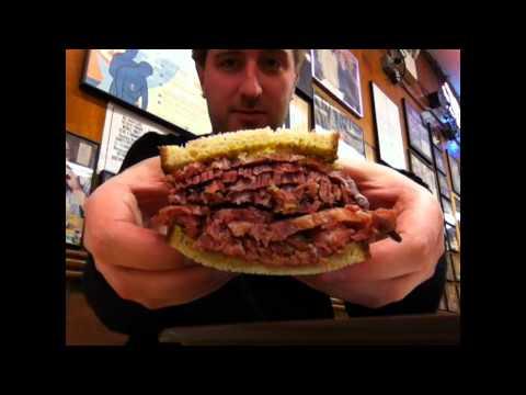 Food-Tube: Katz's Deli - New York City
