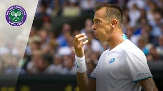 The quickest Wimbledon game ever?
