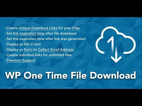 Xxx Mp4 2 How To Create Unique Download Links That Expire On Download With Quot WP One Time File Download Quot 3gp Sex