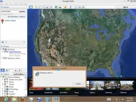 How to Uninstall Google Earth 7.0