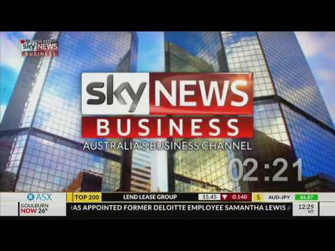 Sky News Business - Trading Day opener 2017