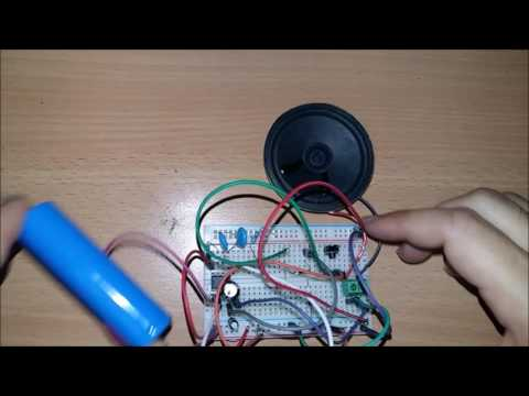 HowTo make doorbell sound circuit - simple (easy)