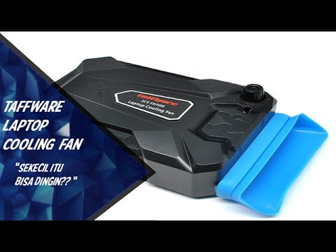 Review Taffware Ice Fan Laptop Cooling Fan (Indonesia)