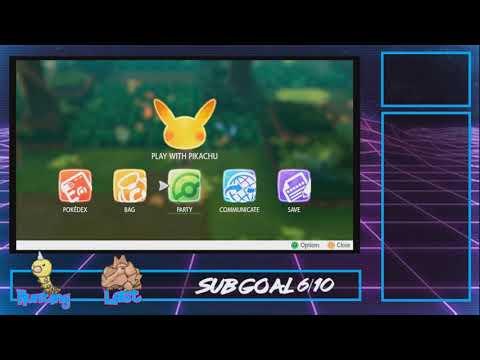 SHINY WEEDLE! My first stream captured shiny encounter! | Pokemon Let's Go