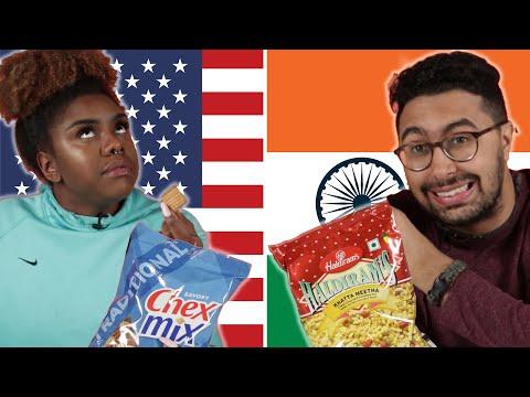 Xxx Mp4 Americans Amp Indians Swap Snacks 3gp Sex