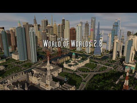 Minecraft | World of Worlds 2.8