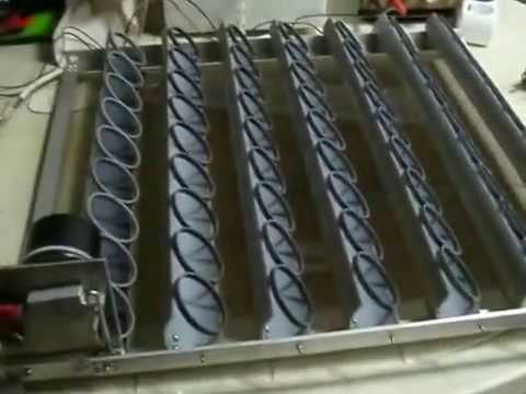 homemade automatic egg turner