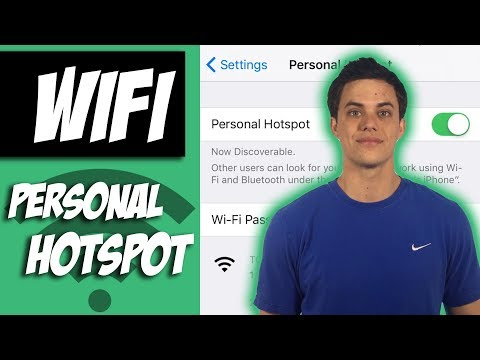 How to Turn On iPhone Personal Hotspot