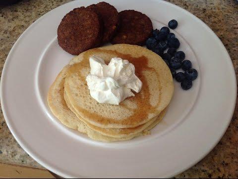 non-dairy (vegetarian) buttermilk pancakes
