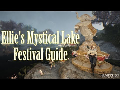 Elle's Mystical Lake Festival - [Event Guide]