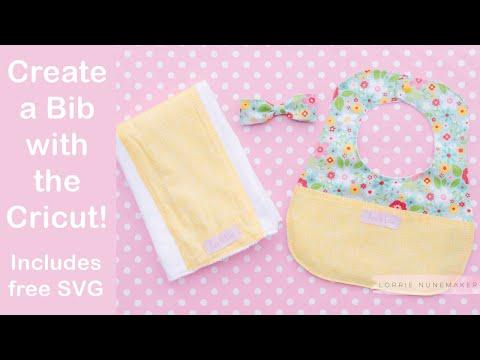 Create a Baby Bib with the Cricut!