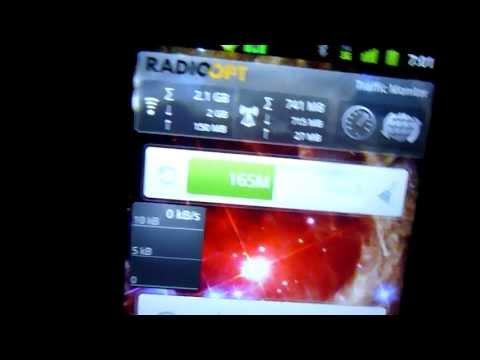 NetTraffic Widget und RadioOpt Traffic Monitor