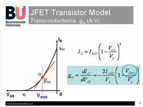 an experiment to find out the jfet characteristics
