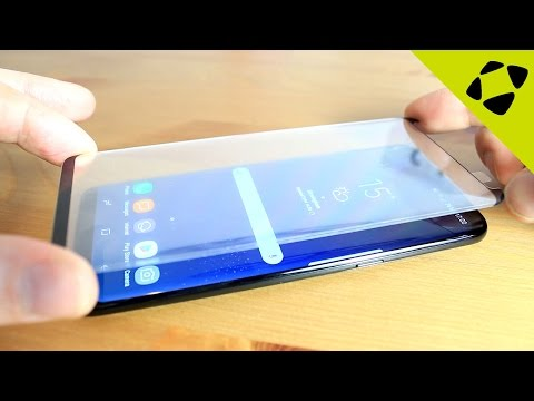 Olixar Samsung Galaxy S8 / S8 Plus Glass Screen Protector (Case Compatible) - Installation Guide