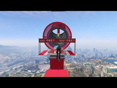 My created bmx stunt race on gta 5 ps4 Bmx World !